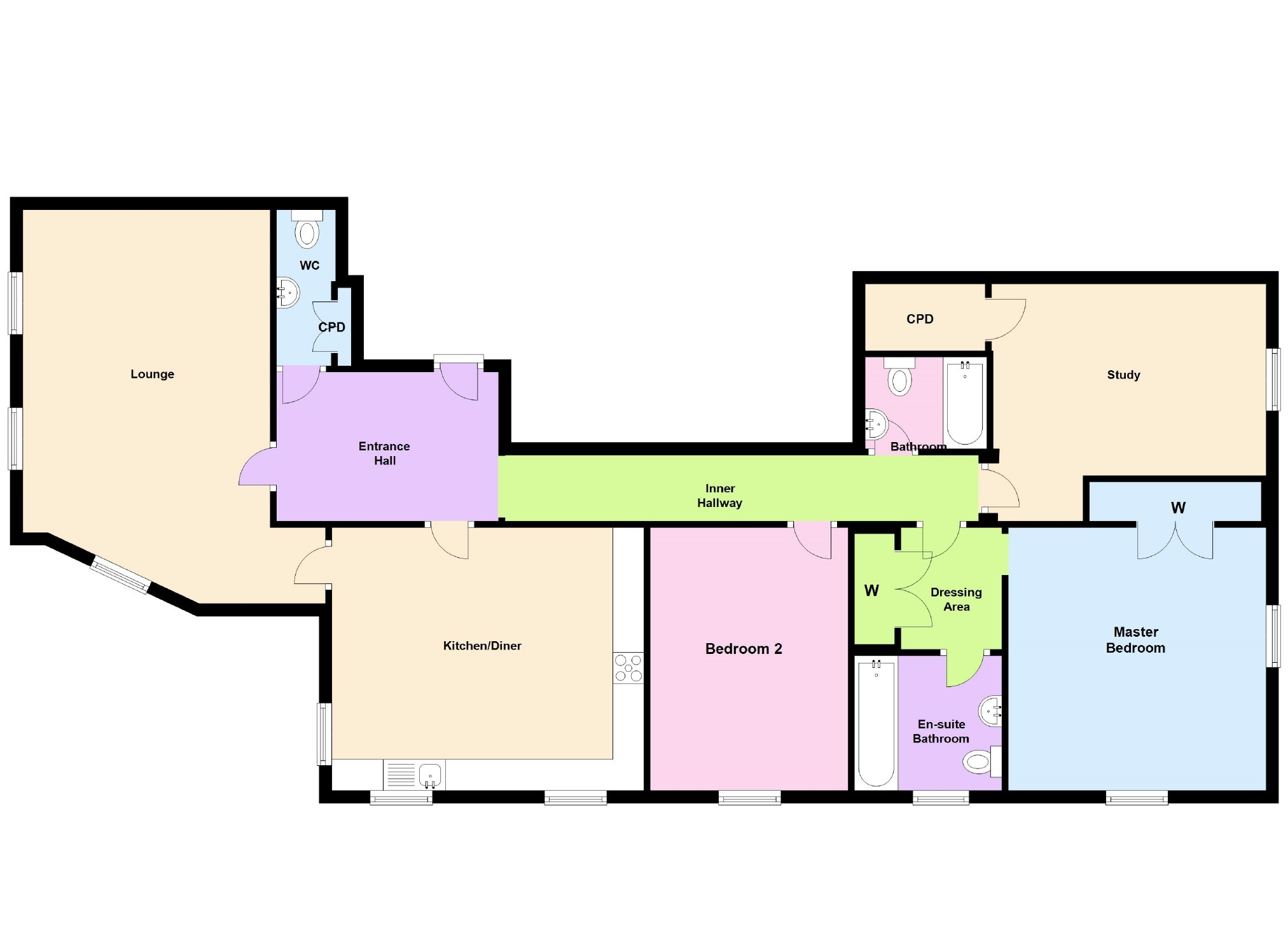 Upton, Northamptonshire | 3 Bed Flat/Apartment