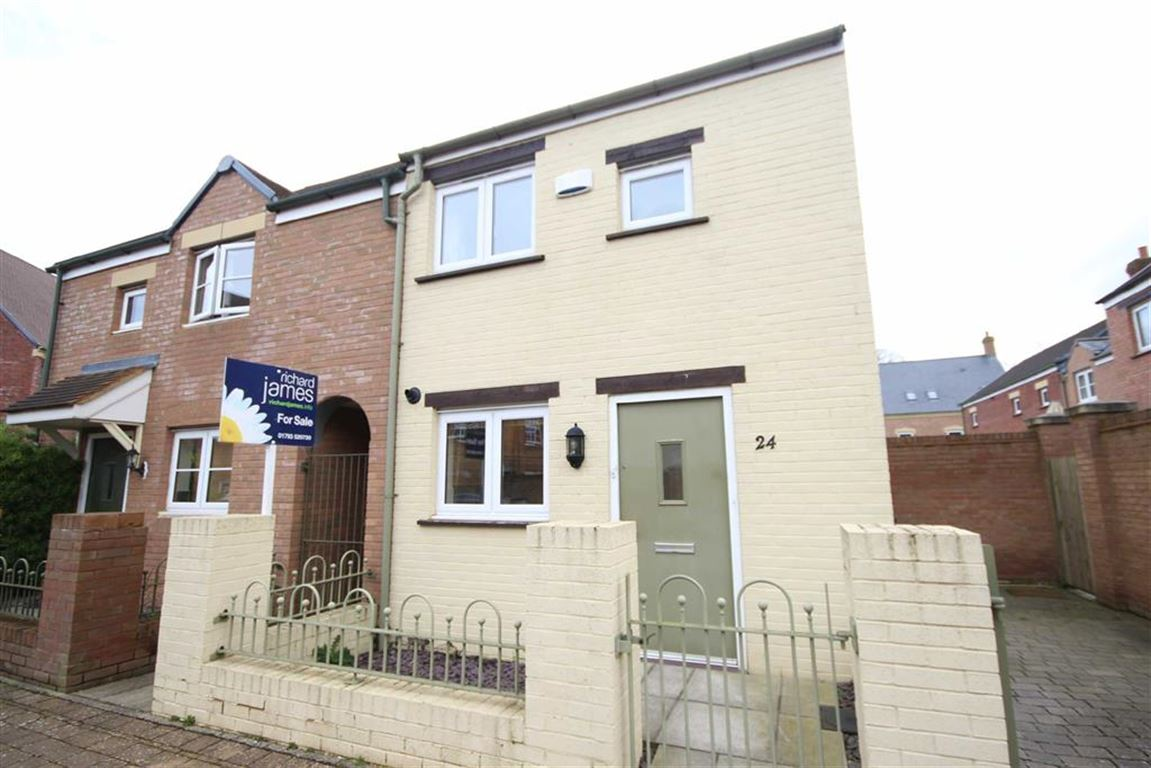 2 Bedrooms Semi Detached House for sale in Ewden Close, East Wichel, Swindon