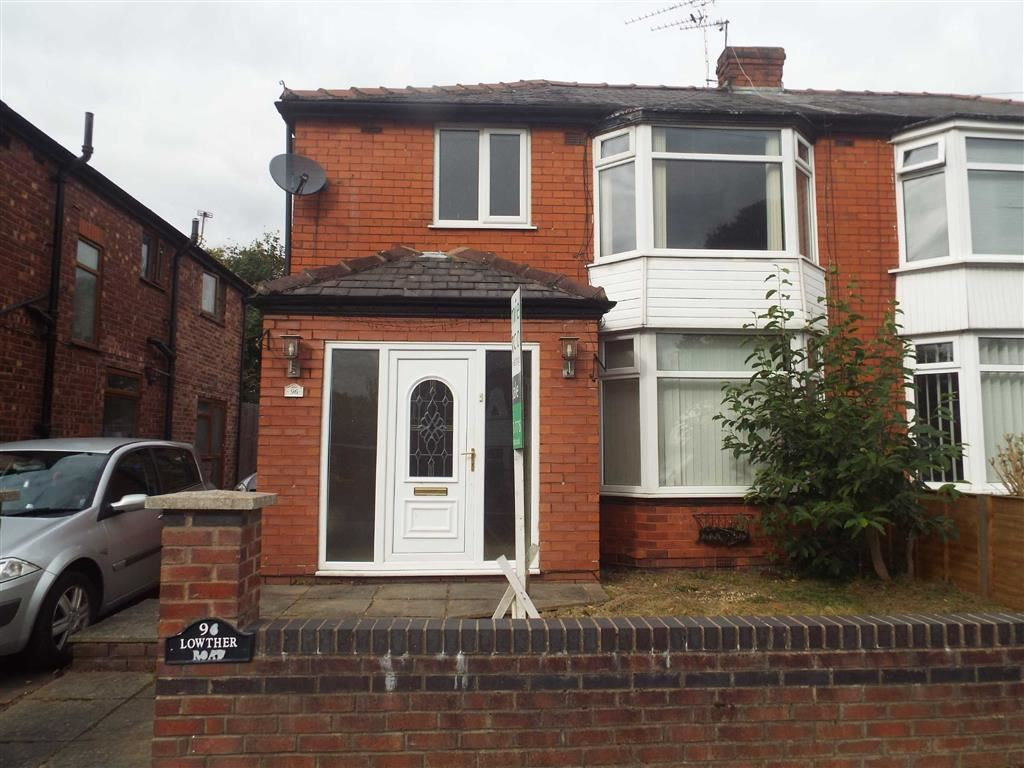 3 Bedrooms Semi Detached House for sale in Lowther Road, Prestwich
