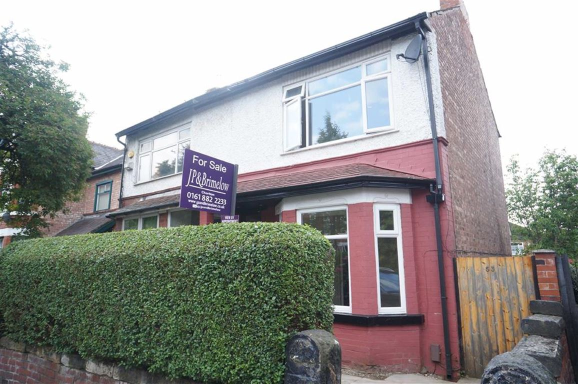 3 Bedrooms Property for sale in Grange Road, Chorlton, Manchester, M21