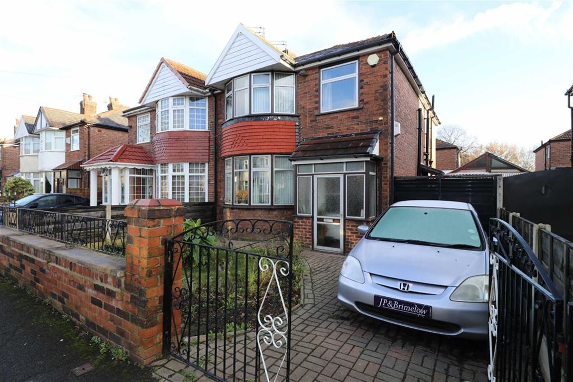 4 Bedrooms Semi Detached House for sale in Woodstock Road, Firswood, Trafford, M16