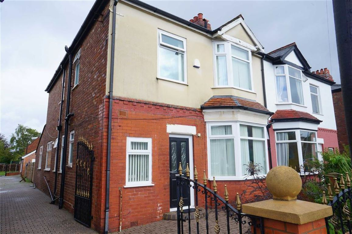 3 Bedrooms Semi Detached House for sale in Daresbury Road, Chorlton, Manchester, M21