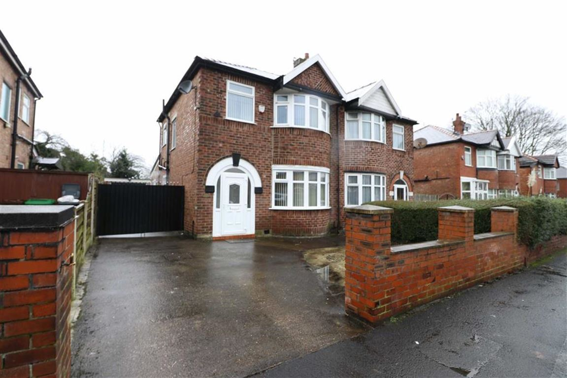 3 Bedrooms Semi Detached House for sale in Alexandra Road South, Whalley Range, Manchester, M16