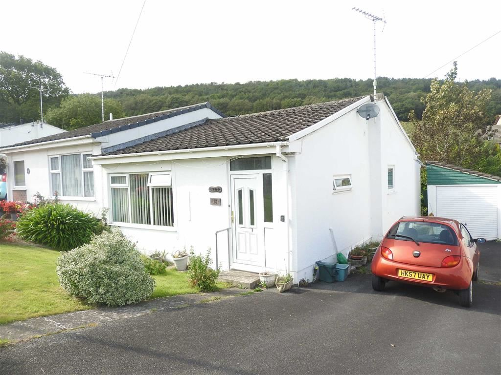 2 Bedrooms Semi Detached Bungalow for sale in The Moorings, Glanteifion, St Dogmaels