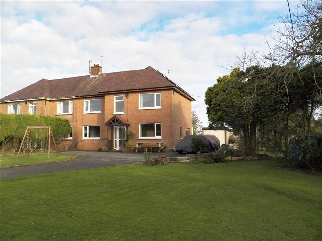 4 Bedrooms Semi Detached House for sale in Brynteg, Five Roads, Llanelli