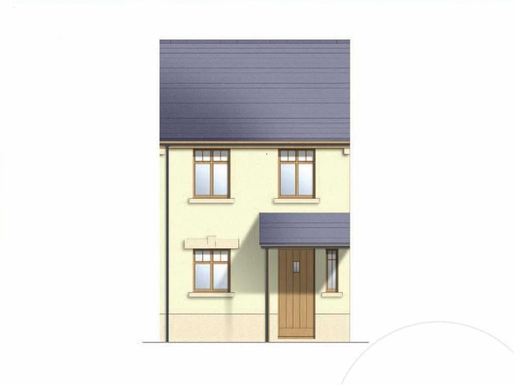 2 Bedrooms End Of Terrace House for sale in Pond Bridge Moors Road, Johnston, Haverfordwest