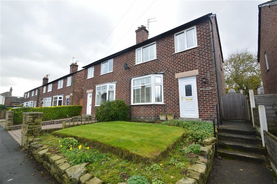 3 Bedrooms Semi Detached House for sale in Delamere Drive, Macclesfield