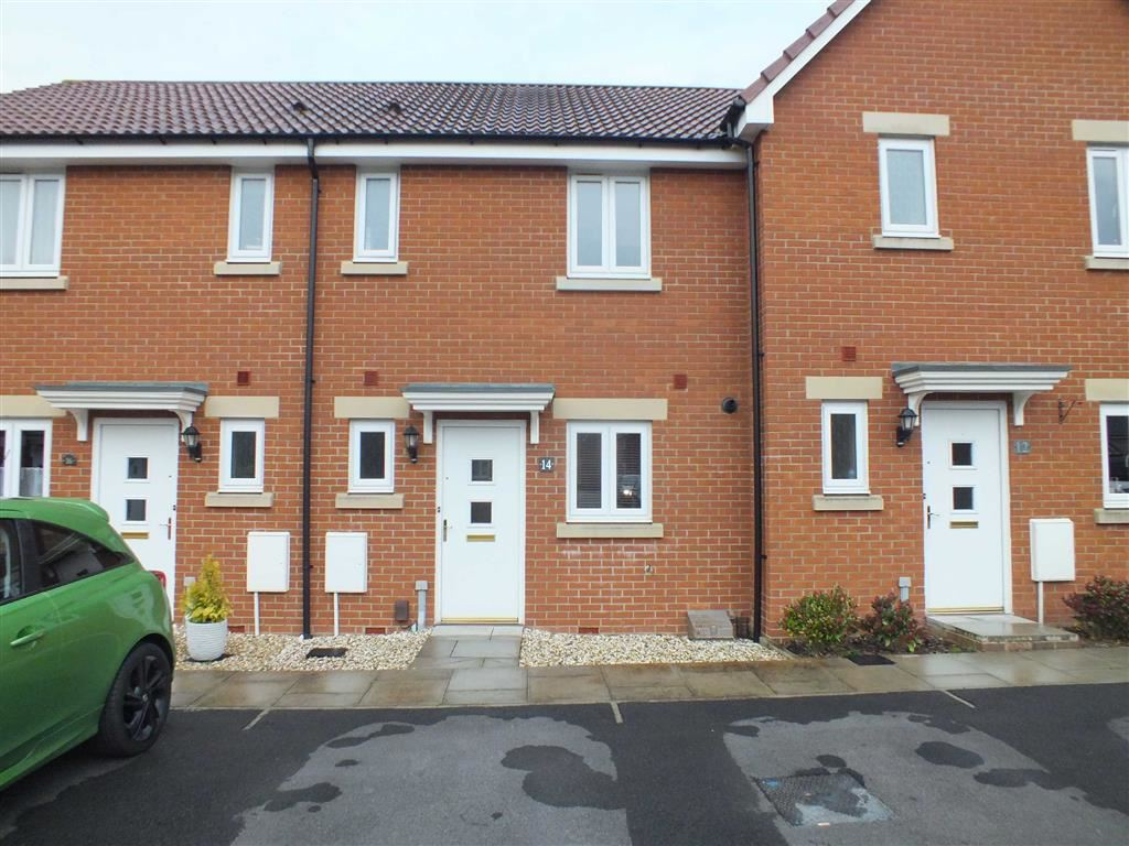 2 Bedrooms Terraced House for sale in Leisler Gardens, Paxcroft Mead, Trowbridge, Wiltshire, BA14
