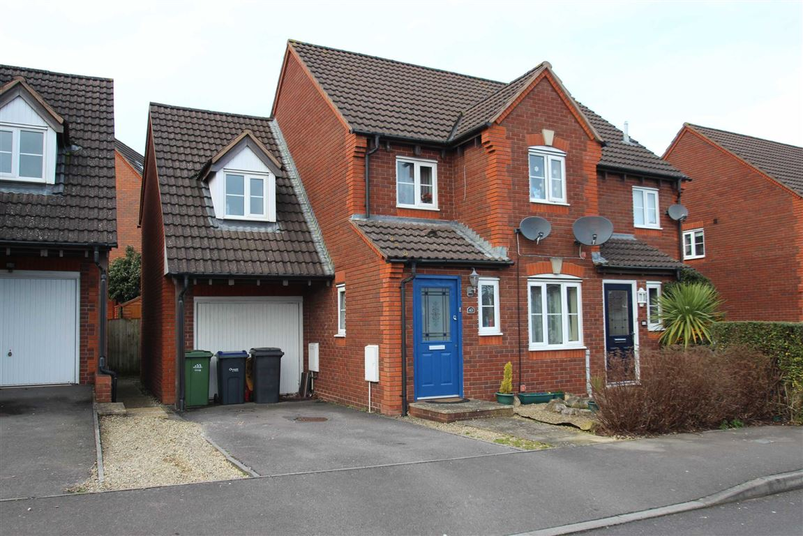 4 Bedrooms Semi Detached House for sale in Yeoman Way, Trowbridge, Wiltshire, BA14