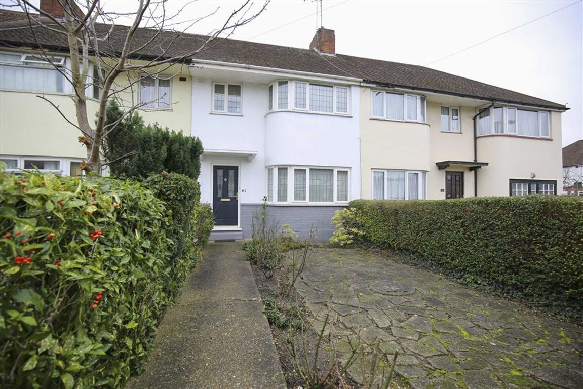 3 Bedrooms Terraced House for sale in Devonshire Road, Mill Hill, London, NW7