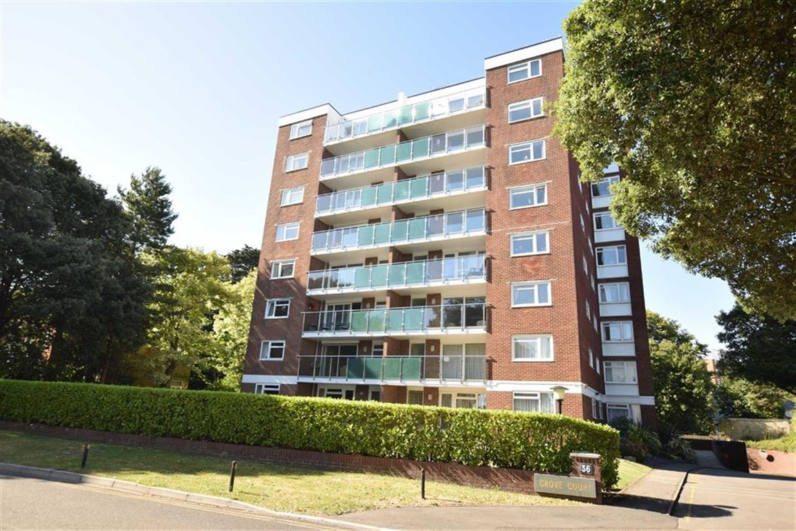 3 Bedrooms Apartment Flat for sale in Grove Court, East Cliff, Bournemouth, BH1