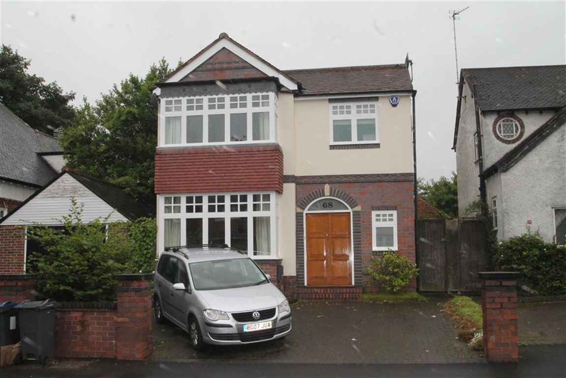 4 Bedrooms Detached House for sale in Lordswood Road, Harborne