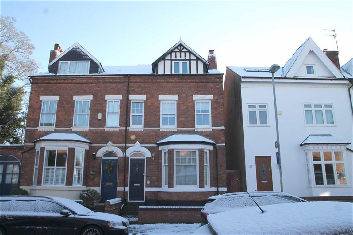4 Bedrooms Semi Detached House for sale in Clarence Road, Harborne