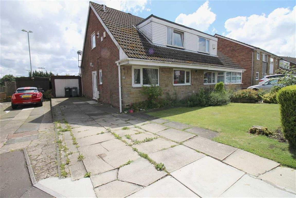 3 Bedrooms Semi Detached House for sale in Shannon Drive, Outlane, Huddersfield