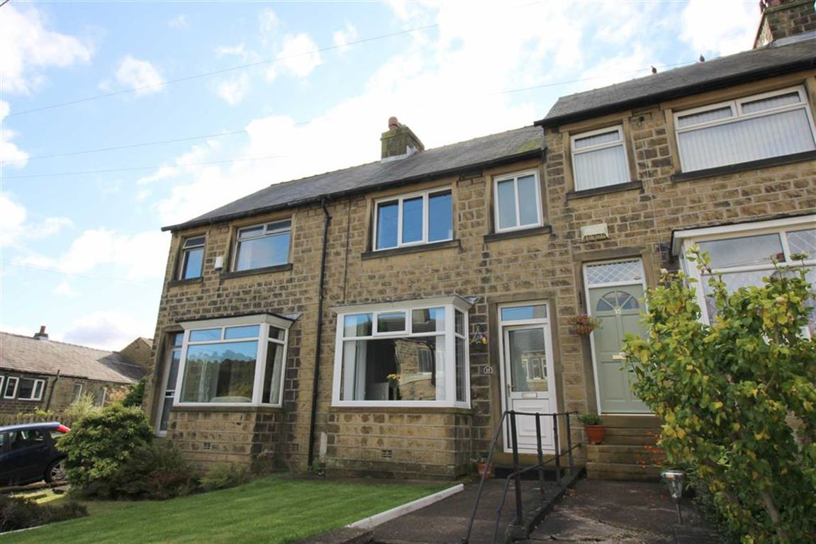 2 Bedrooms Terraced House for sale in Parkwood Road, Longwood, Huddersfield