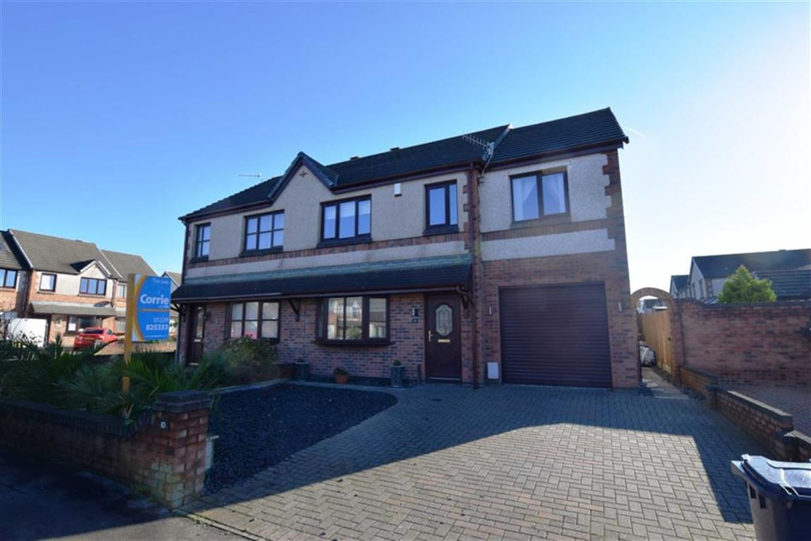 4 Bedrooms Semi Detached House for sale in Caspian Road, Askam-in-Furness, Cumbria