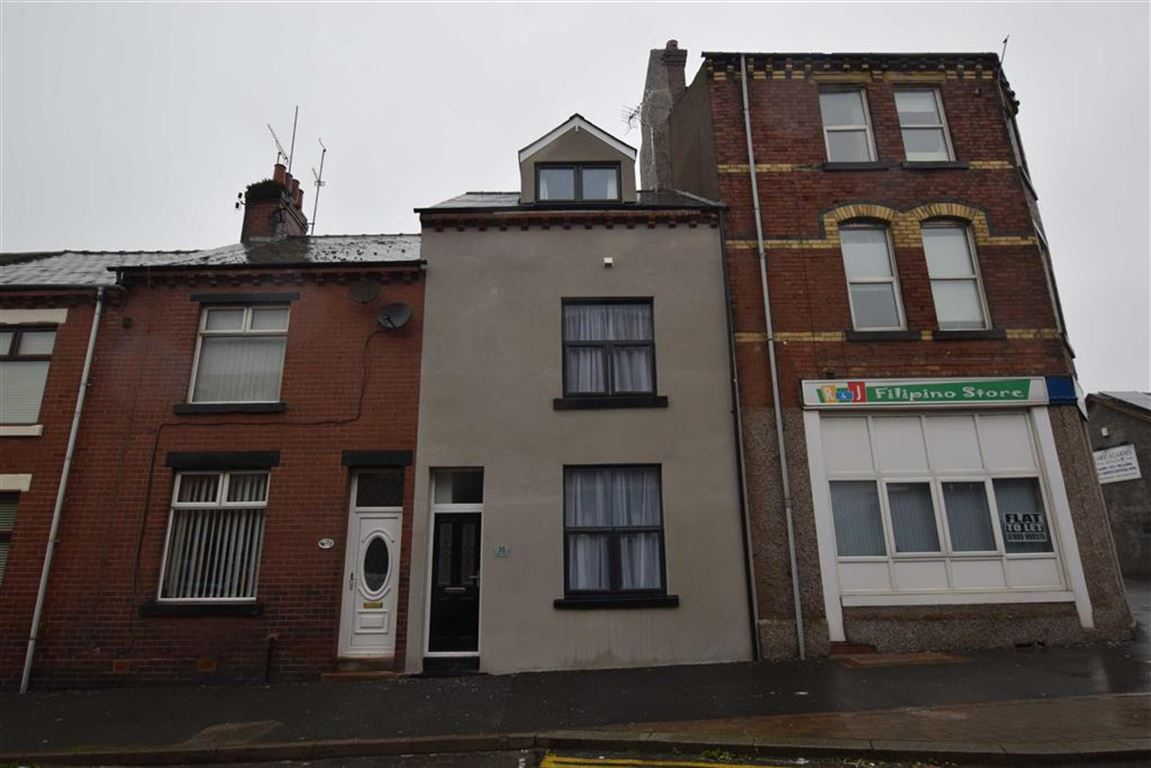 1 Bedroom Terraced House for rent in Nelson Street, Barrow-In-Furness, Cumbria
