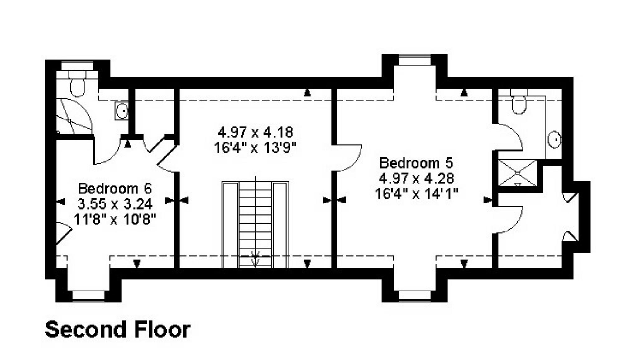 House Of Bryan Floor Plan House Detached Watton Road Datchworth Knebworth