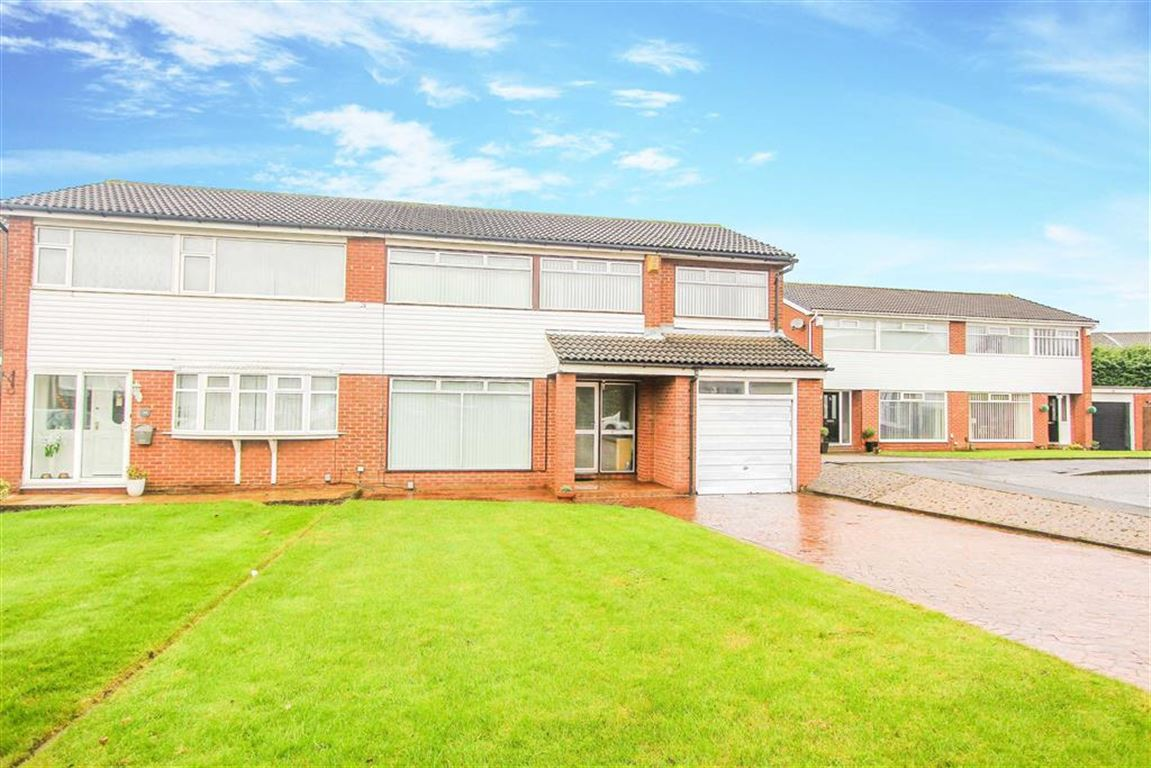 4 Bedrooms Semi Detached House for sale in Agricola Gardens, Wallsend