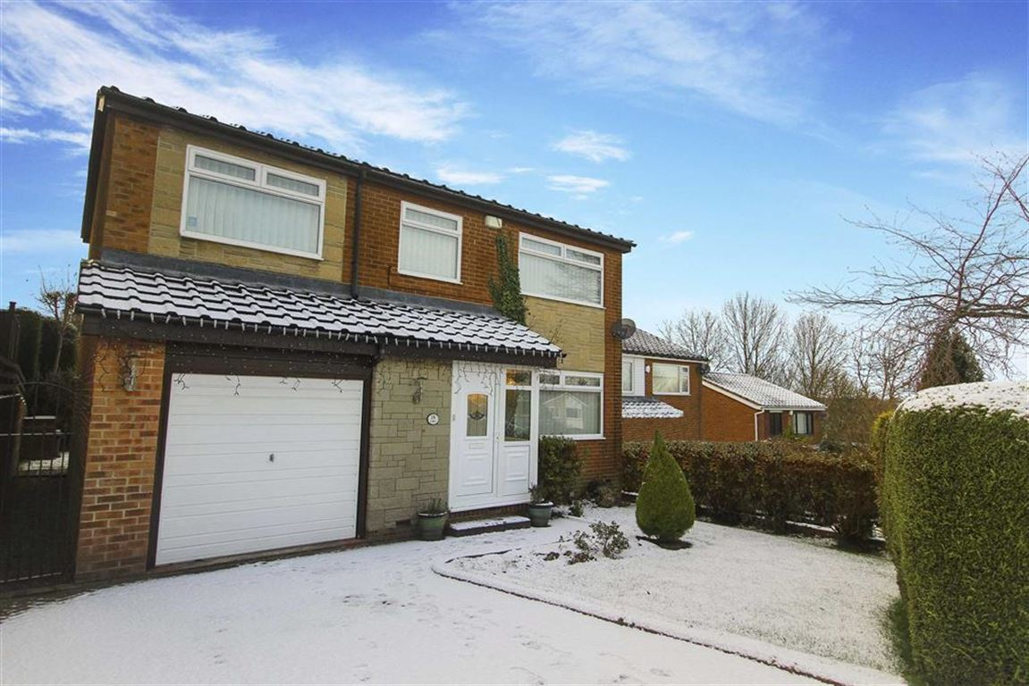 4 Bedrooms Detached House for sale in Callaley Avenue, Whickham, Gateshead