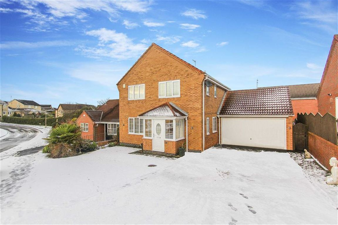 3 Bedrooms Detached House for sale in Carisbrooke, Bedlington, Northumberland