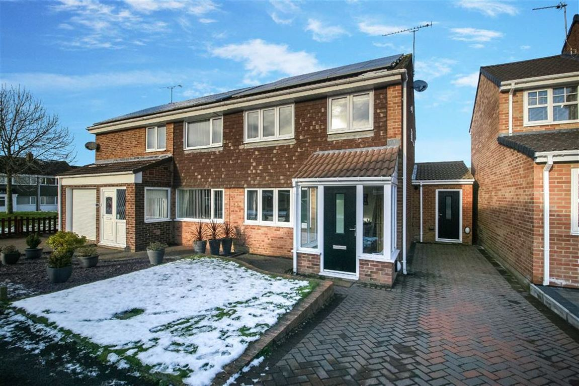 3 Bedrooms Semi Detached House for sale in The Grove, Fellgate
