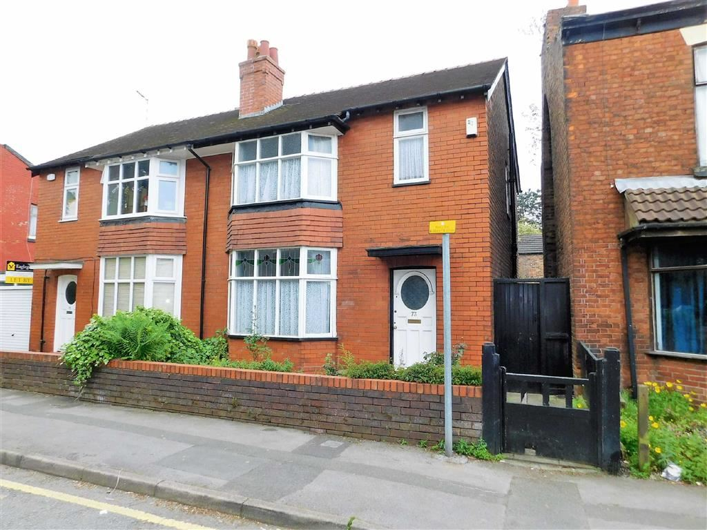 3 Bedrooms Semi Detached House for sale in Adswood Lane East, Cale Green, Stockport