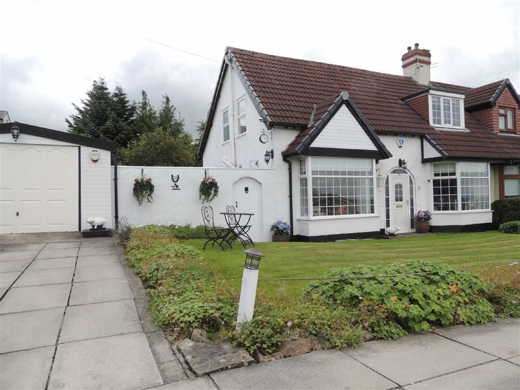 3 Bedrooms Semi Detached House for sale in Hawk Green Road, Marple, Stockport