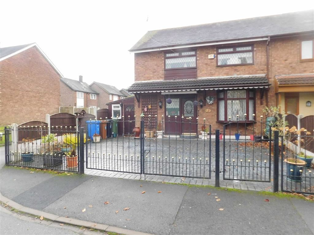 3 Bedrooms End Of Terrace House for sale in Stratford Gardens, Bredbury, Stockport