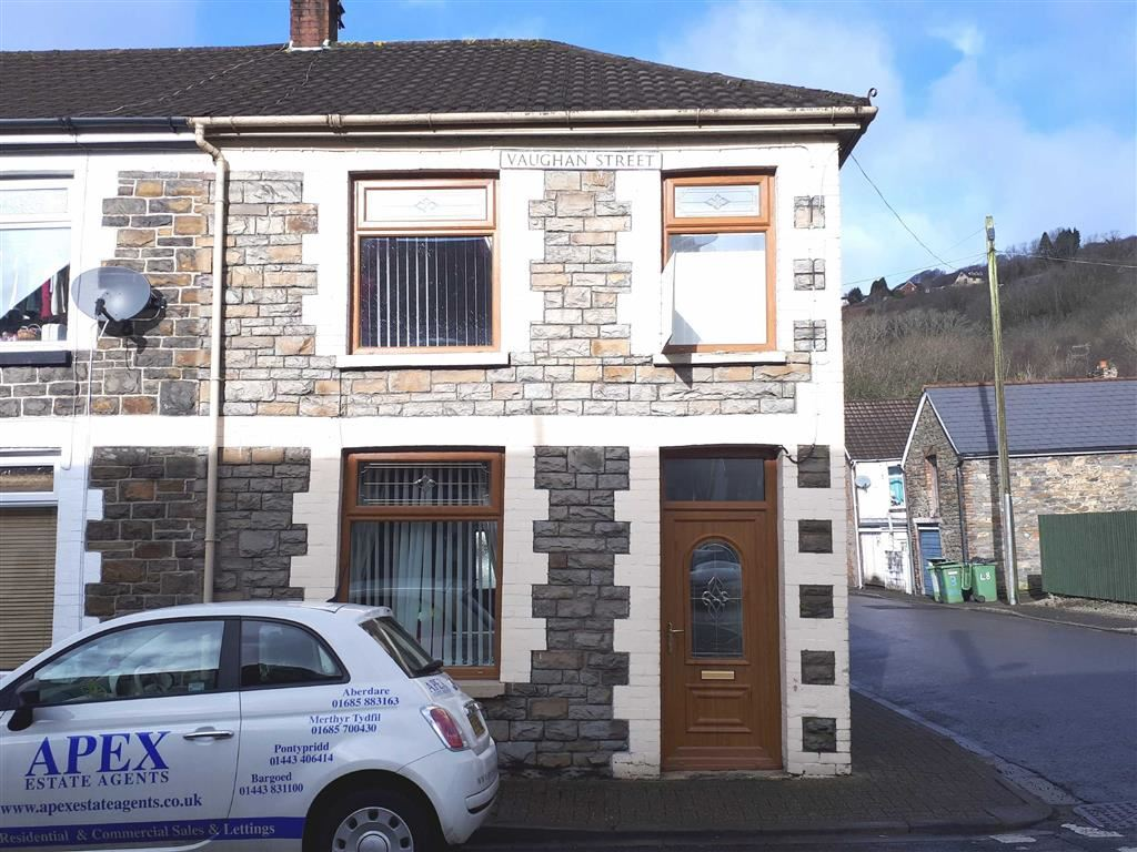 2 Bedrooms End Of Terrace House for sale in Vaughan Street, Pontypridd