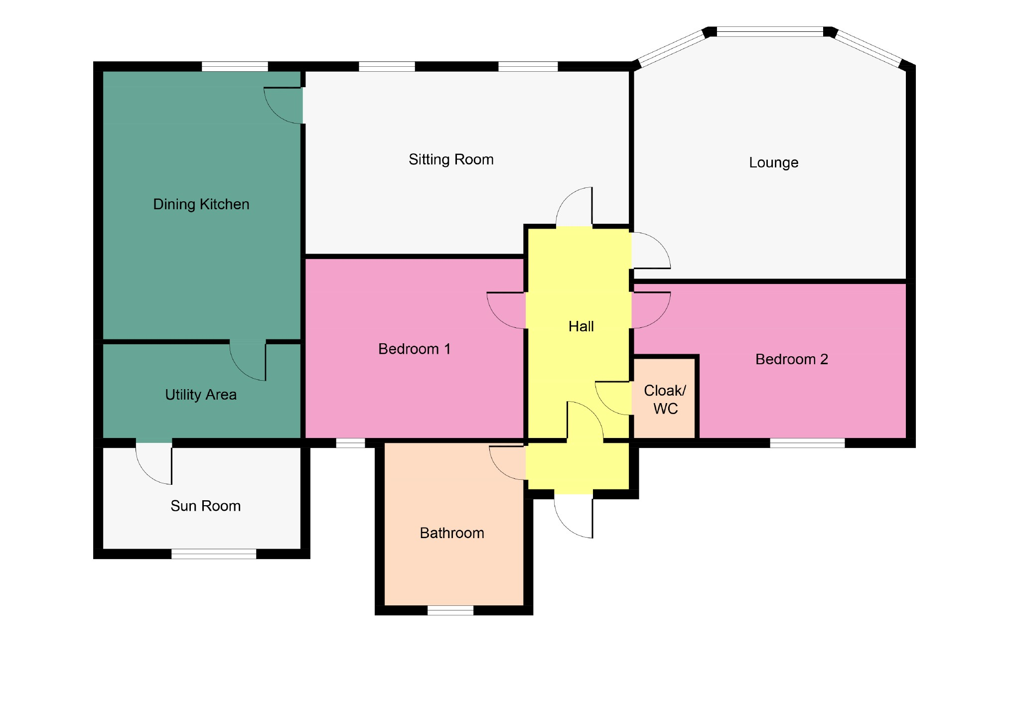 Marine parade dunoon argyll bute 2 bed type unknown for Floor plans 80 marine parade