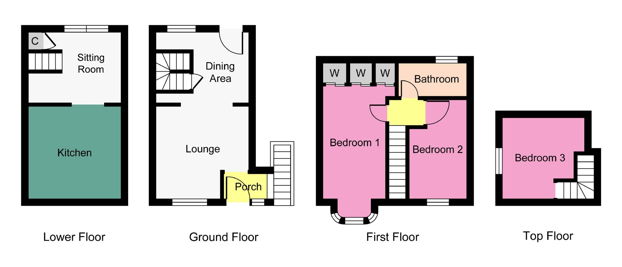 Floor Plan Of Different Kitchen Home Design Inspirations