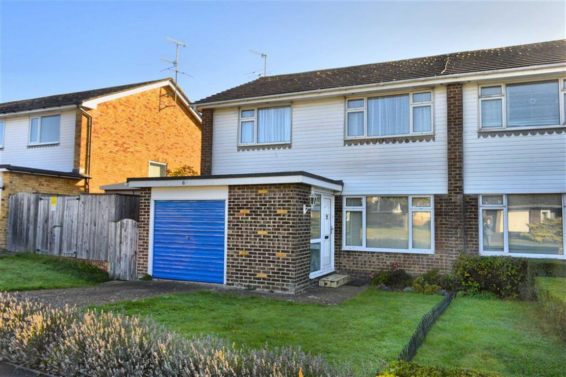 3 Bedrooms Semi Detached House for sale in Barn Rise, Seaford, East Sussex