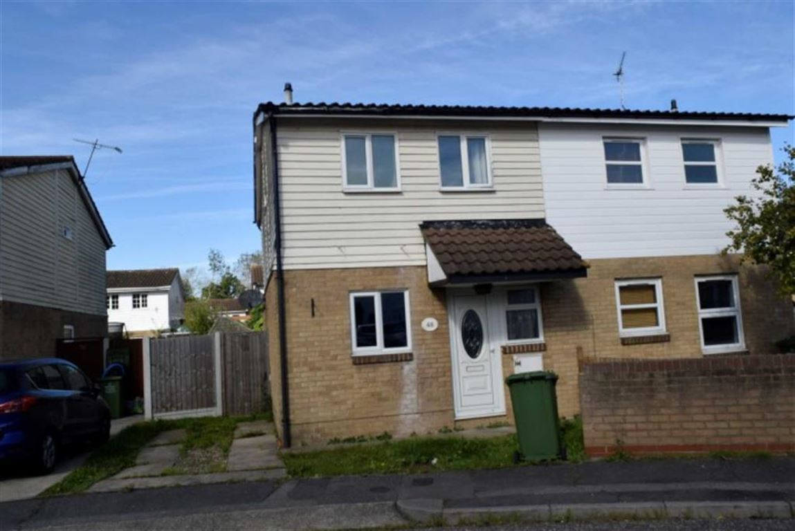 3 Bedrooms Semi Detached House for sale in Voysey Gardens, Basildon, Essex