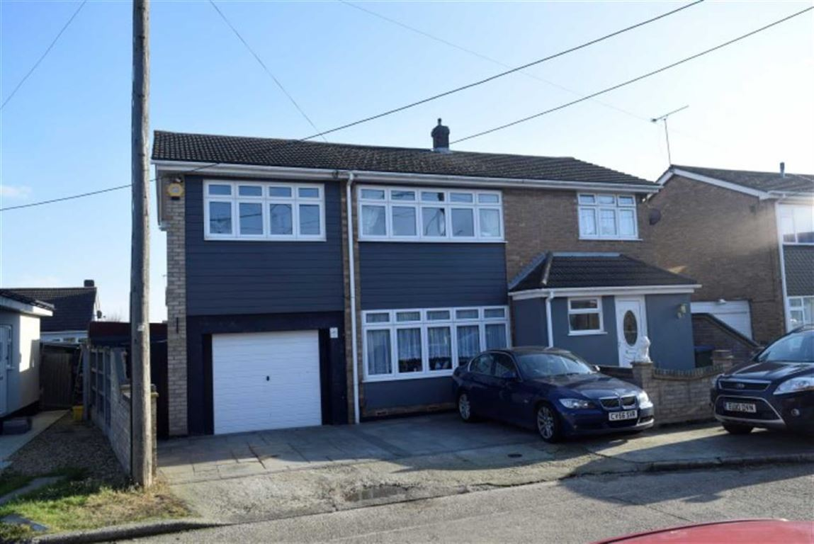 4 Bedrooms Detached House for sale in Surig Road, Canvey Island, Essex