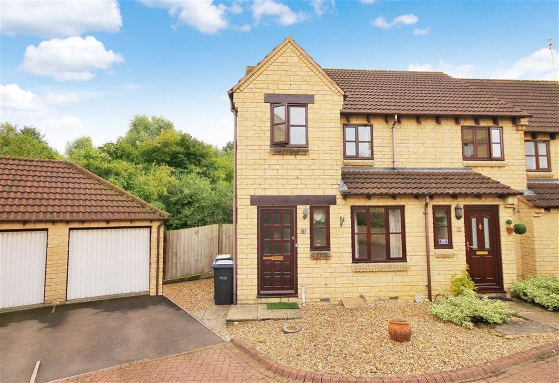 3 Bedrooms End Of Terrace House for sale in Roebuck Close, Royal Wootton Bassett, Wiltshire