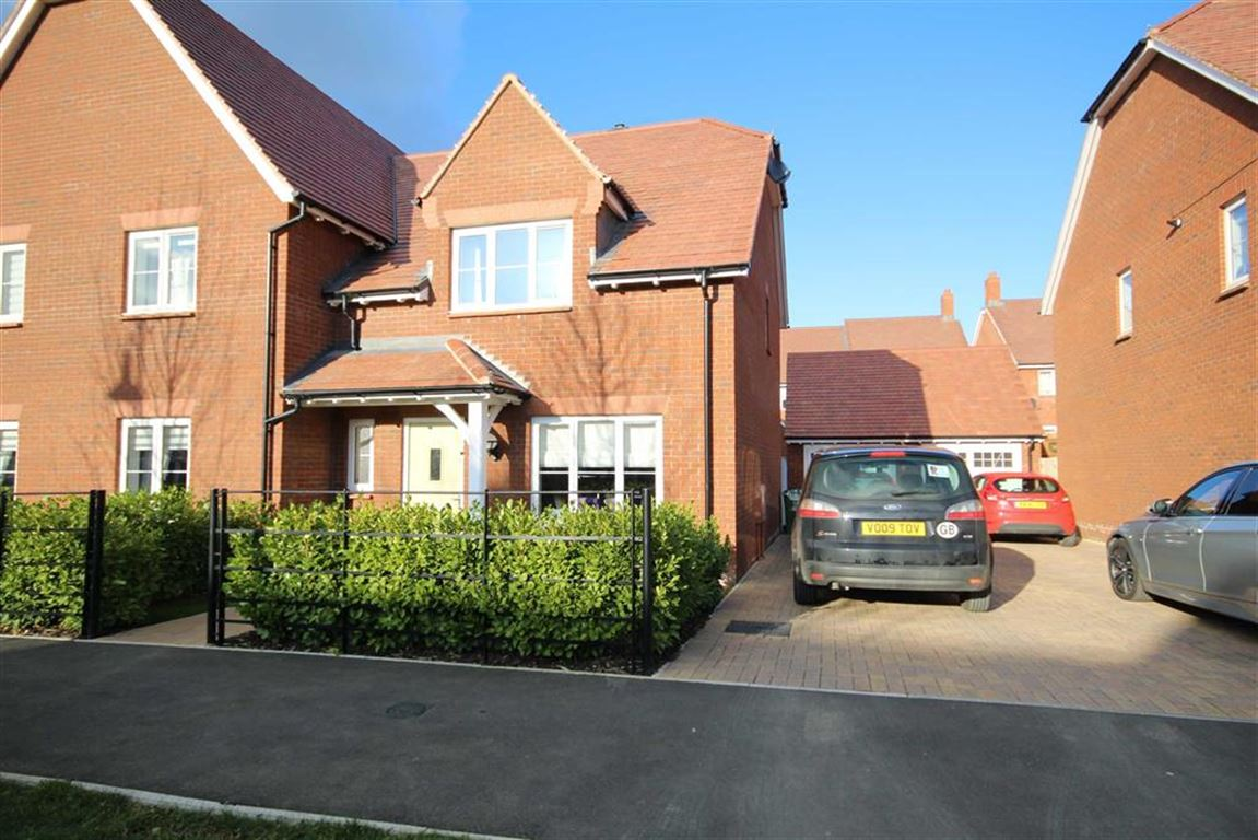 3 Bedrooms Semi Detached House for sale in William Morris Way, Tadpole Garden Village, Wiltshire