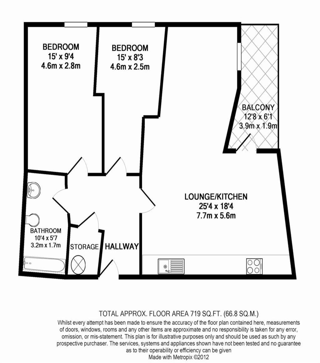 Tarn House, Manchester - 2 Bed - Apartment