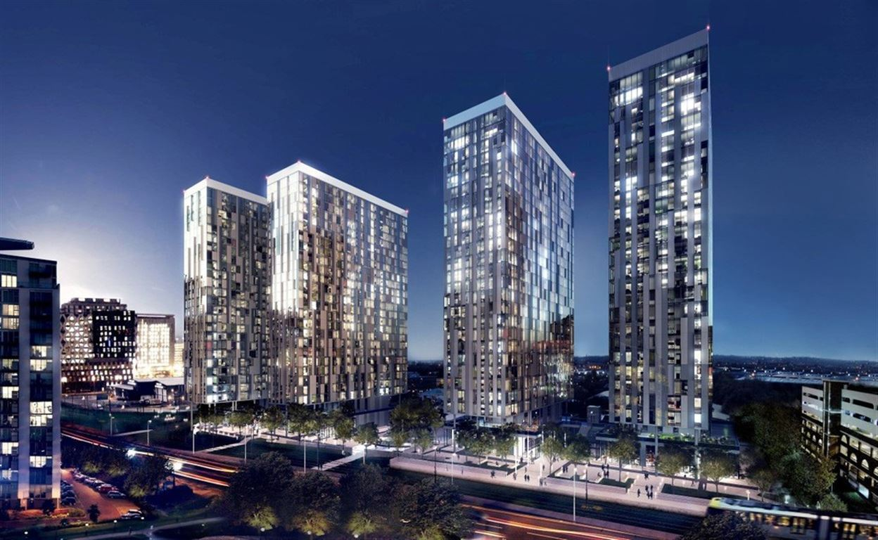 Media City X1, Salford Quays Apartment