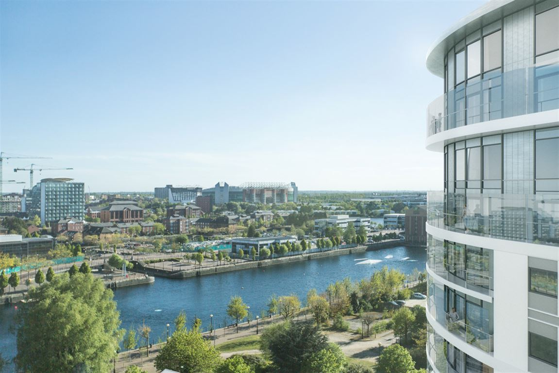 Fortis Quay, Salford Apartment