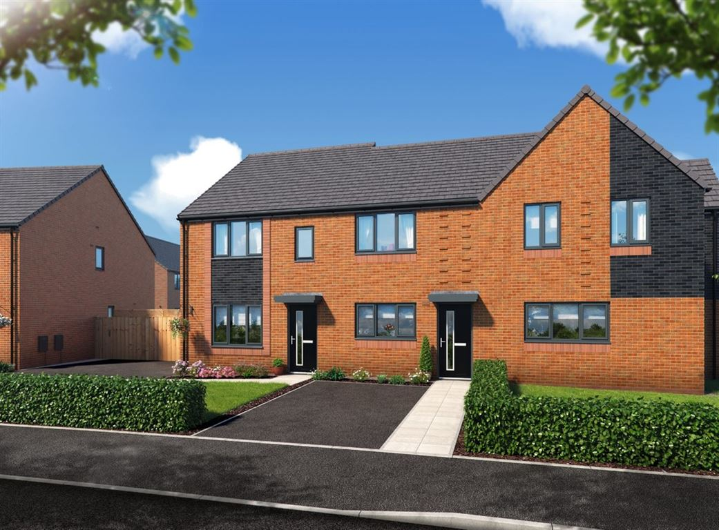 Riverbank View, The Eston, Salford - 2 Bed - Semi-Detached