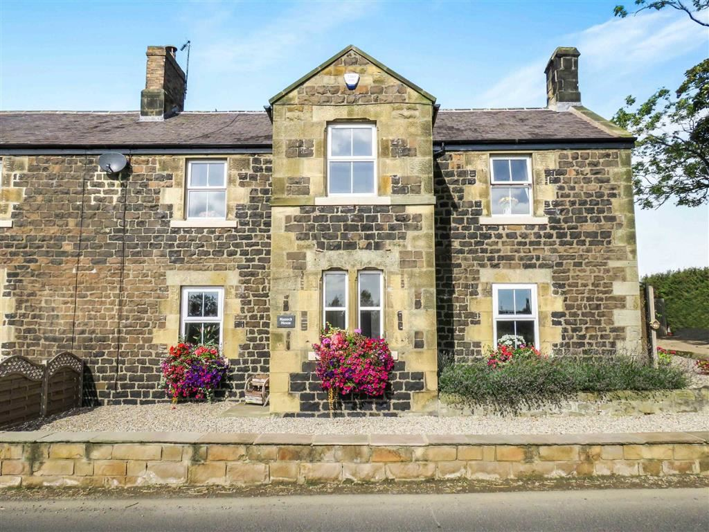 4 Bedrooms Semi Detached House for sale in Stamford, Alnwick, Northumberland