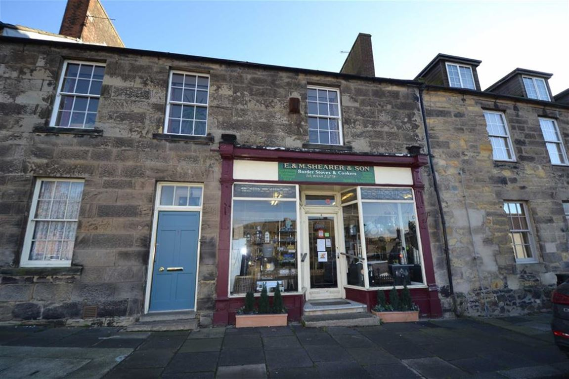 2 Bedrooms Flat for sale in High Street, Belford, Northumberland
