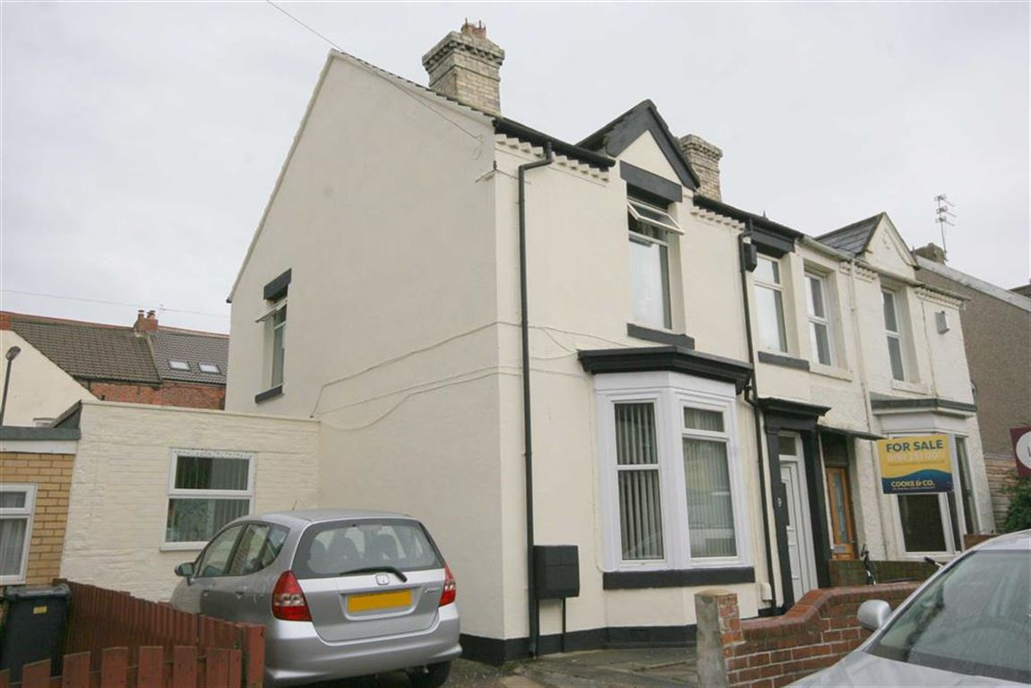 3 Bedrooms Semi Detached House for sale in Cheviot View, Whitley Bay, NE26