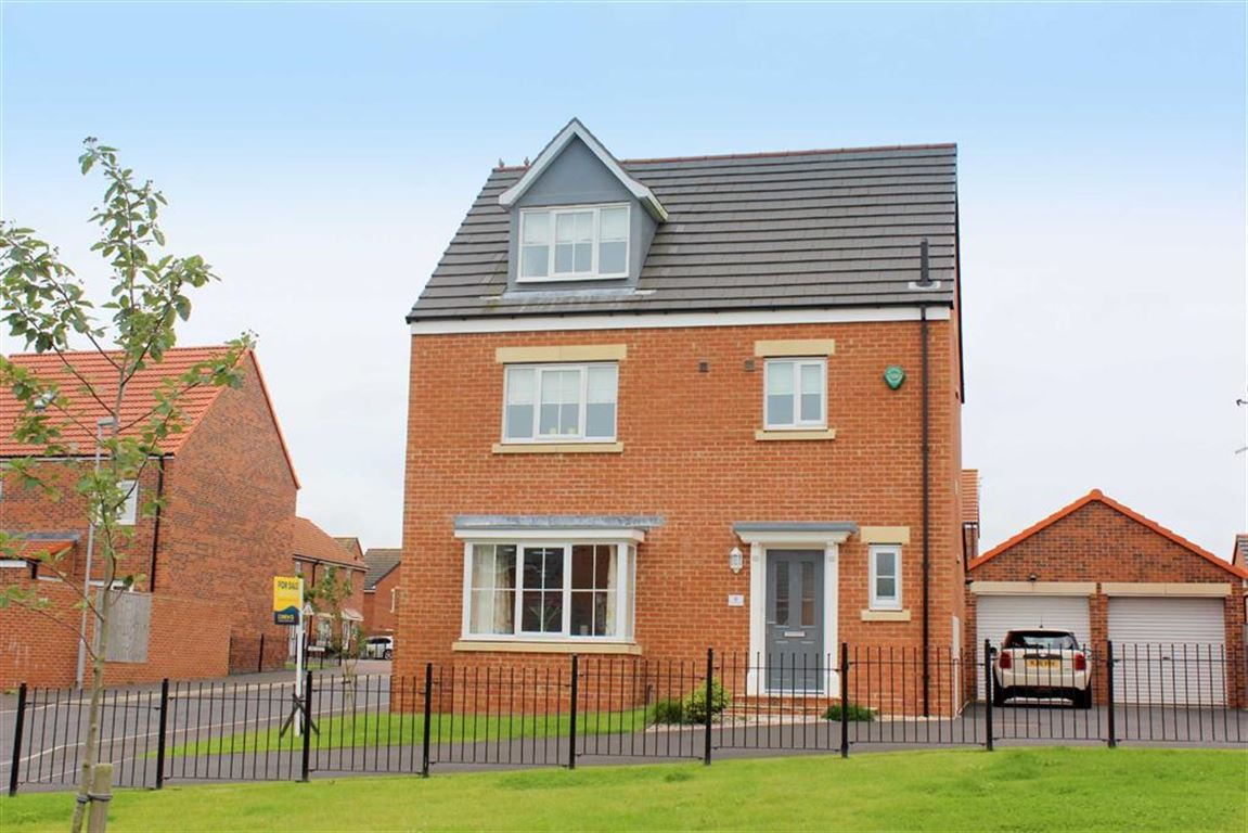 4 Bedrooms Detached House for sale in Lambley Crescent, Seaton Delaval, NE25
