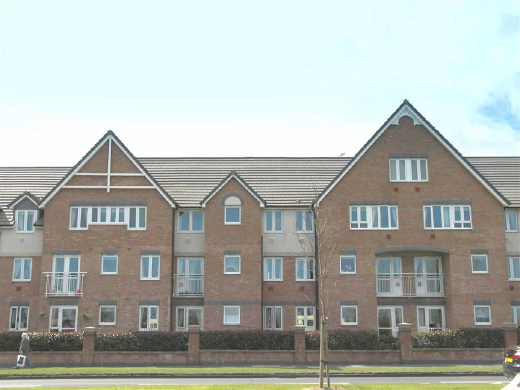 1 Bedroom Retirement Property for sale in Grangeside Court, North Shields, Tyne & Wear, NE29
