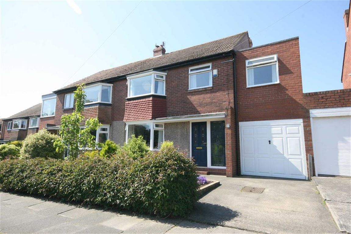 5 Bedrooms Semi Detached House for sale in Seatonville Road, West Monkseaton, Tyne & Wear, NE25