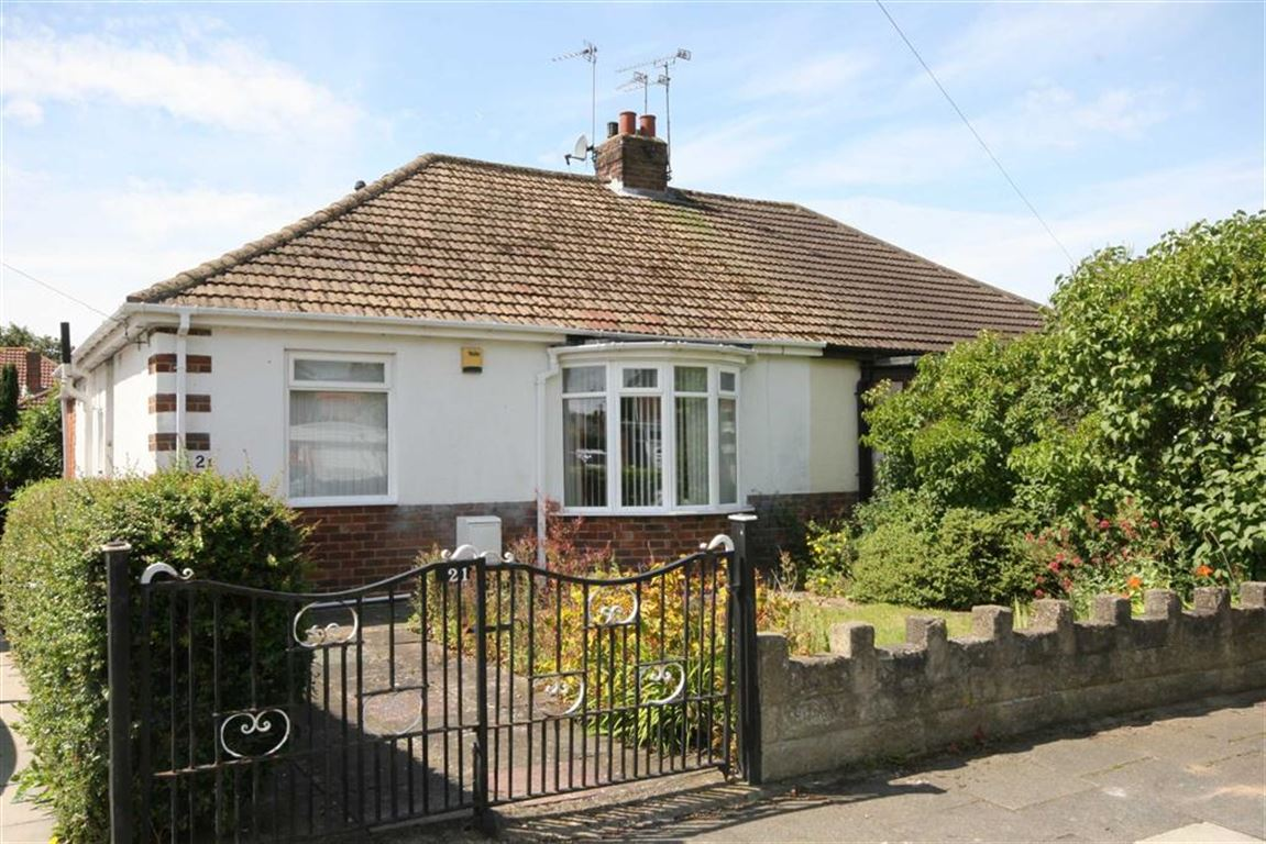 2 Bedrooms Semi Detached Bungalow for sale in Middle Green, West Monkseaton, NE25