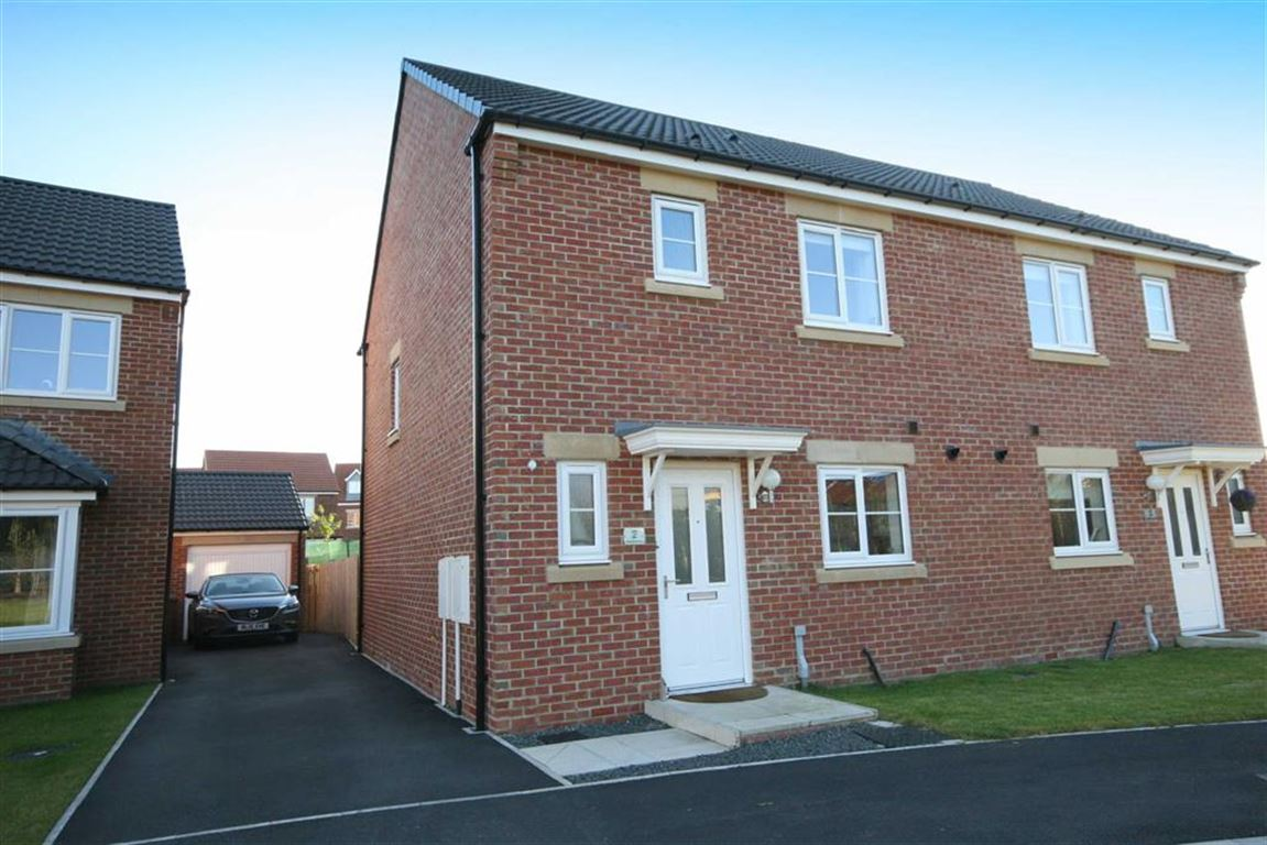 3 Bedrooms Semi Detached House for sale in Akenshaw Drive, Seaton Delaval, Tyne And Wear, NE25