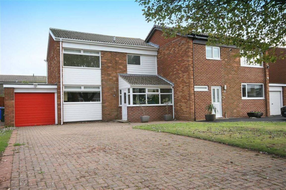 3 Bedrooms Semi Detached House for sale in Dunsdale Road, Holywell, Tyne And Wear, NE25